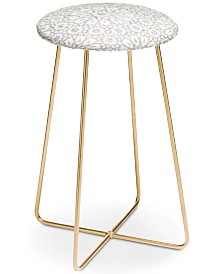 Deny Designs Schatzi Brown Tangier Tile Counter Stool