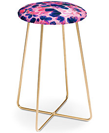 Deny Designs Susanne Kasielke Cherry Blossoms Counter Stool