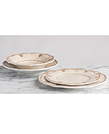 Q Squared Rustica Bone White Dinnerware Collection