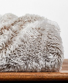"Frosted Faux-Fur 50"" x 60"" Throw Blanket"