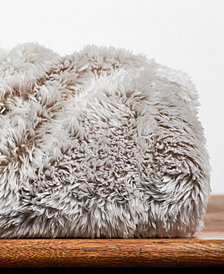 "Berkshire Frosted Faux-Fur 50"" x 60"" Throw Blanket"
