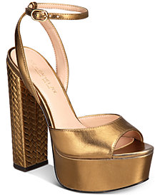 Zoe by Rachel Zoe Claire Platform Sandals