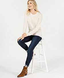 Charter Club Cashmere Sweater & Bristol Skinny Jeans, Created For Macy's