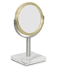 DKNY Mixed Media Bath Mirror
