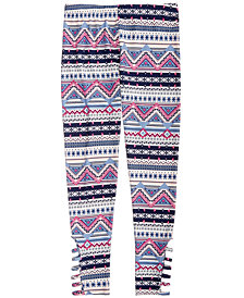 Epic Threads Big Girls Geo-Print Leggings, Created for Macy's
