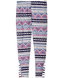 Epic Threads Big Girls Geo-Print Leggings, Created for Macy's