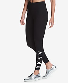 Sport High-Rise Logo Workout Leggings