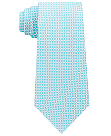 Michael Kors Men's Circle Neat Silk Tie