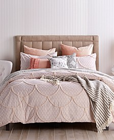 Chenille Scallop 3-Pc. Full/Queen Comforter Set
