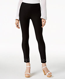 MICHAEL Michael Kors Embellished Leggings, Regular & Petite