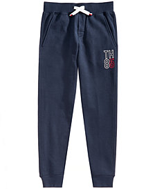 Tommy Hilfiger Big Boys Logo-Print Jogger Pants