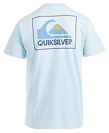 Quiksilver Men's The Box Logo-Print T-Shirt