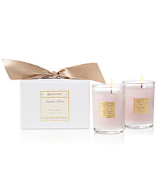 Aromatique Santalum Blooms Boxed Votive Candles, Set of 2
