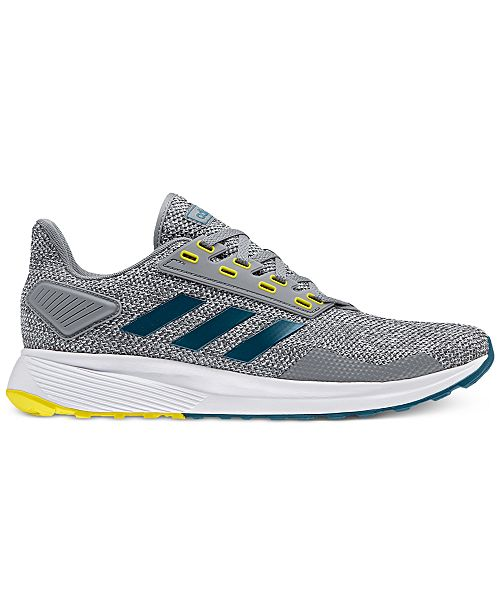 edfe3d85e4f15 adidas Men s Duramo 9 Knit Running Sneakers from Finish Line ...