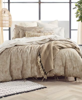 CLOSEOUT! Kashmir 2-Pc. Twin Duvet Cover Set, Created for Macy's