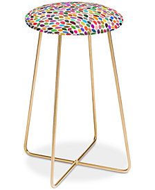Deny Designs Garima Dhawan Rain Counter Stool