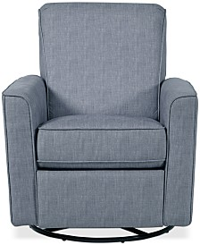 Atkinson Swivel Recliner, Quick Ship