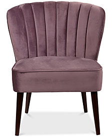Hudson Accent Chair, Quick Ship