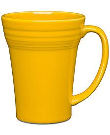Fiesta Daffodil Bistro Latte Mug
