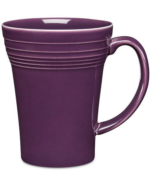 Fiesta Mulberry 19 oz Bistro Latte Mug