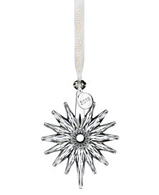 Waterford Snow Crystal Ornament
