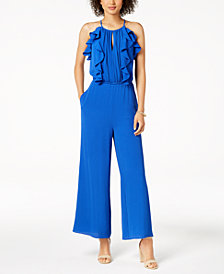 julia jordan Ruffled Jumpsuit