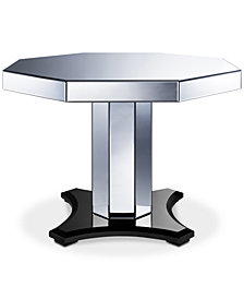 Hudson Mirrored Table, Quick Ship