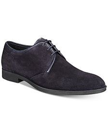 HUGO Men's Boheme Suede Lace-Up Derby Shoes