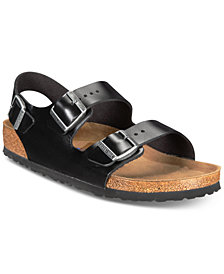 Birkenstock Men's Milano Leather Buckle Sandals