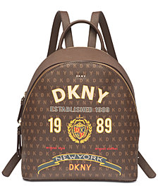 DKNY Scarf Print Signature Backpack