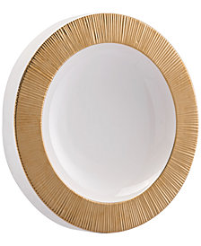 Zuo Plato Large Wall Decor Gold & White