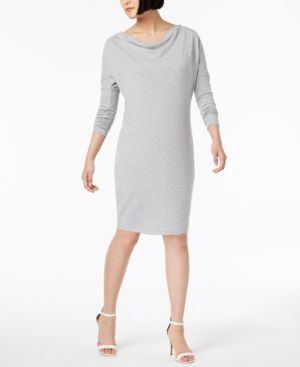 Image of 525 America Petite Cowl-Neck Dress, Created for Macy's