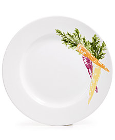 CLOSEOUT! Martha Stewart Collection Farmhouse Carrot Salad Plate