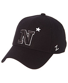 Zephyr Navy Midshipmen Black/White Stretch Cap