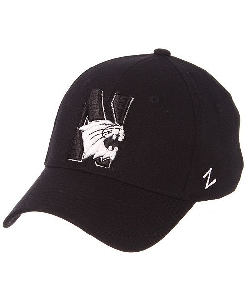 Zephyr. Northwestern Wildcats Black White Stretch Cap. Be the first to  Write a Review. main image ... 79cf0f856701