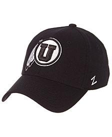 Zephyr Utah Utes Black/White Stretch Cap
