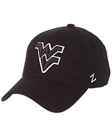 Zephyr West Virginia Mountaineers Black/White Stretch Cap
