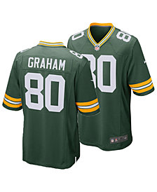 Nike Men's Jimmy Graham Green Bay Packers Game Jersey
