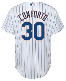 Michael Conforto New York Mets Player Replica Cool Base Jersey, Big Boys (8-20)