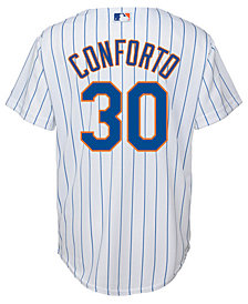 Majestic Michael Conforto New York Mets Player Replica Cool Base Jersey, Big Boys (8-20)