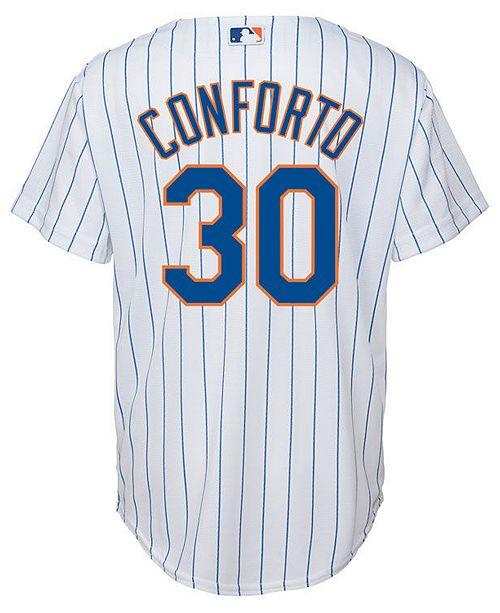 pretty nice c1012 d34d3 Michael Conforto New York Mets Player Replica Cool Base Jersey, Big Boys  (8-20)