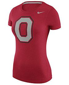 Nike Women's Ohio State Buckeyes Scoop Logo T-Shirt