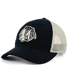adidas Chicago Blackhawks Sun Bleached Slouch Cap
