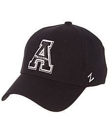 Zephyr Appalachian State Mountaineers Black/White Stretch Cap
