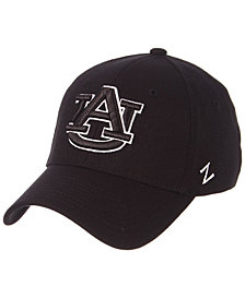 Zephyr Auburn Tigers Black/White Stretch Cap