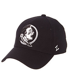 Zephyr Florida State Seminoles Black/White Stretch Cap