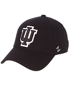 Zephyr Indiana Hoosiers Black/White Stretch Cap