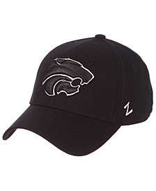 Zephyr Kansas State Wildcats Black/White Stretch Cap