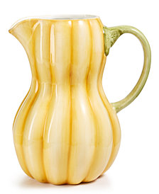CLOSEOUT! Martha Stewart Collection Farmhouse Gourd Pitcher