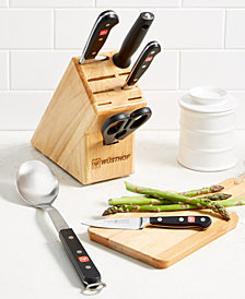Wüsthof Classic 6-Pc. Cutlery Block Set